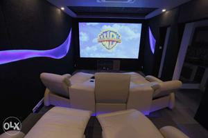 A small theatre at your home within your