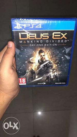 DEUS EX PS4 playstation 4 game 750 brand new