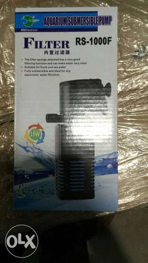 Filter Aquarium Submersible Pump Box