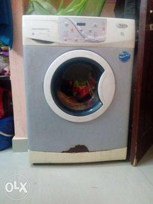 Front load whirl pool 7kg washing machine.power on is not