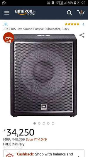 Jbl woofer brand new sealed pack coming in 2 days
