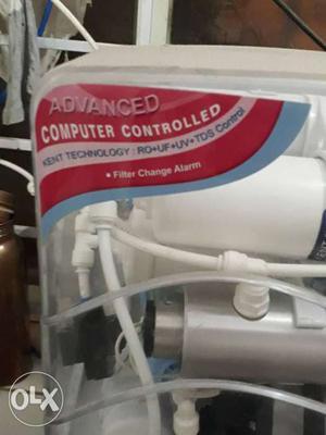 Kent White Water Purifier RO+UF+UV+TDS CINTROLLER