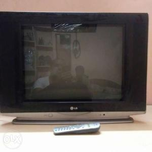 "LG 21"" colour tv with remote for sale contact"