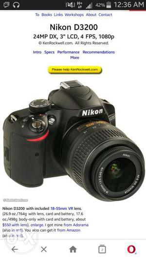 Nikon d dslr cemera photos & hd videos for