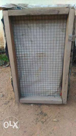 Pigeons two row cage for sale