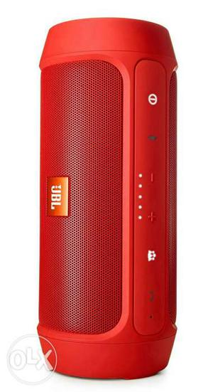 Red JBL Wireless Bluetooth Speaker