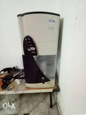 White And Black Water Purifier Dispenser (Pureit)