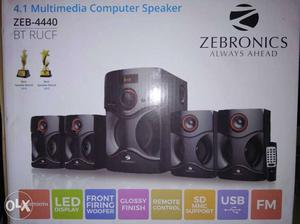 Zebronics 4.1 computer Speakers with Bluetooth,