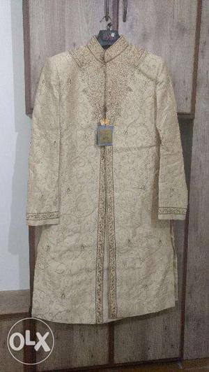 New Manyavar branded unused Wedding Sherwani set.