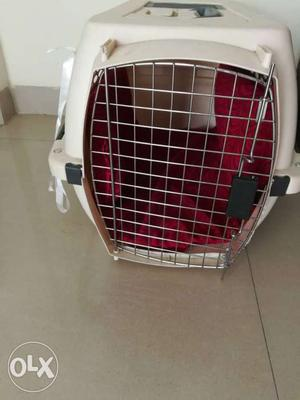 Pet house or crate for small pets. 3 months new,