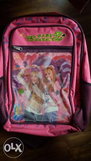 This is a cute Hannah Montana school bag