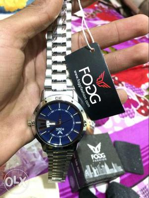 Fogg -BLDay nd Date watch for men new watch