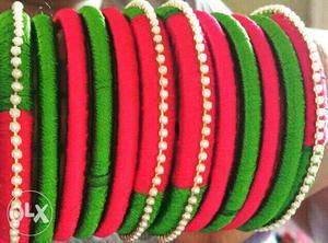 Homemade bangles on order
