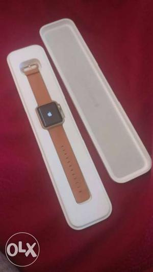Its a brand new apple watch series . still in