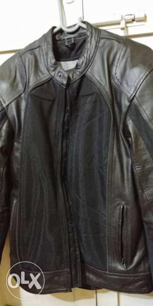 New Bilt Air Demon Leather Hybrid Jacket for Riding Bike
