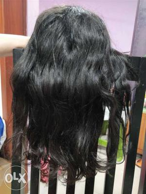 Real hair wig for sale never been used