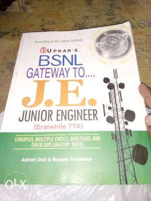 BSNL Gateway To J.E. Junior Engineer Book