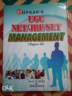 UPKAR'S UGC NET/JRF/SET Management (Paper II) by Dr.L.N.Koli