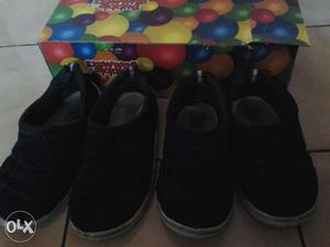 BATA -BUBBLEGUMMERS 2 pairs of branded casual shoes...for