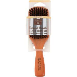 Earth Therapeutics Natural Bristle Club Brush - 1 Brush