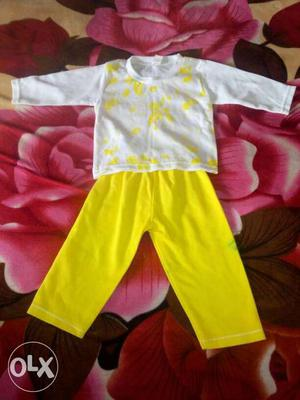 Pure cotton, unused baby cloth for age new born