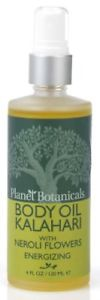 Planet Botanicals African Fruit Body Oil Kalahari With