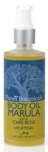 Planet Botanicals African Fruit Body Oil Marula With Cape