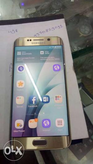 Samsung galaxy s6 edge Best condition and First