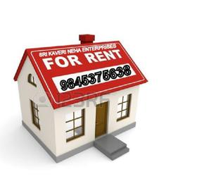 1 BHK House for Rent in Cookes Town 9845375638