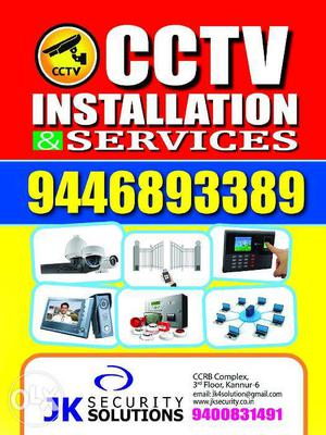 AHome security and automation system installation and
