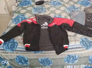 Adidas double side rain/winter jacket