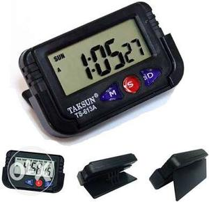 Black Taksun TS-613A Digital Clock