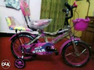 Brand new bicycle for 3 to 5 years kids