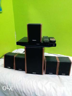Philips home theatre wd cd player in vry gd