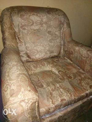 Two Single Large Sofa Set(with cover) along with