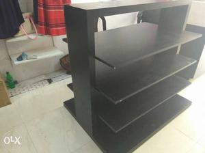 Wooden display unit available for sale. Condition