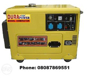 Your Own Power House - Small, Portable & Silent Diesel