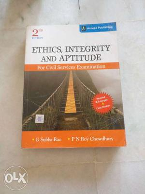 Brand new book for UPSC ethics