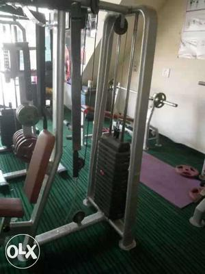 Gym equipment crossover,leg curl leg extensions,