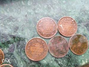One quarter anna coins for sale