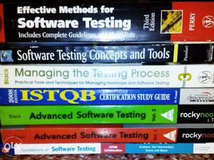 Software Testing - Complete Set of 10 Books Includes