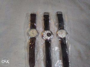 Box Piece Brand New Wrist Watch For Men 3 Nos