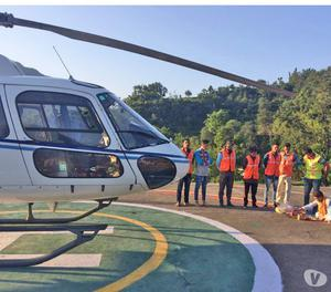 Helicopter rental services in Jaipur and Kerala tour Package