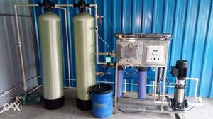 Industrial RO water plants sells and service brand new!