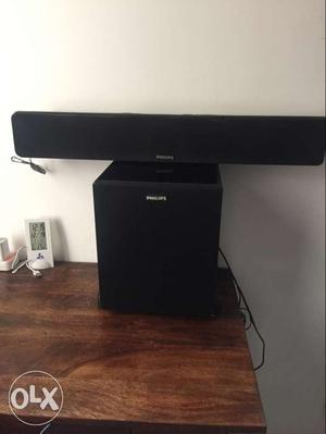 Philips sound bar with speaker 1 year old Selling