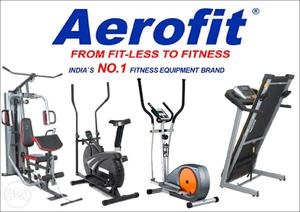 Aerofit Gym Fitness Treadmills Exercise Cycles for Home Use