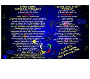 Learn Astro Numero Vastu Sutra now reveal in 4 days Mumbai