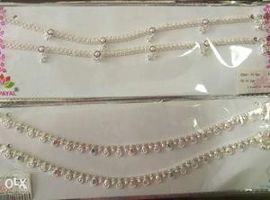 Silver Payal for legs. Pure Silver. Rate -42 rs