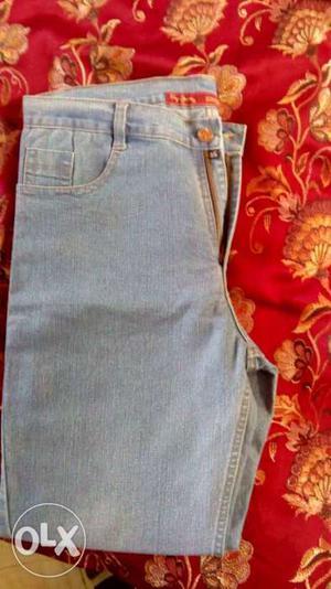 Sky blue jeans not a single use size (36)
