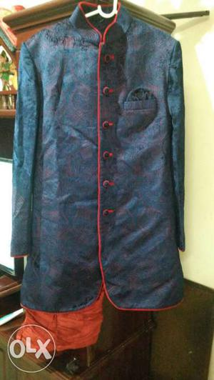 Unused Manyavar Indo Western Sherwani Of Size 40